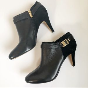 VINCE CAMUTO Suede Leather Platform Ankle Boot 9